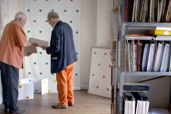 Rendez-vous chez les artistes : Kaspar König et Niele Toroni © Bildersturm 2016–ARTE